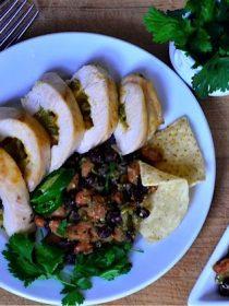 Bush's Chicken and Bean Nacho Casserole