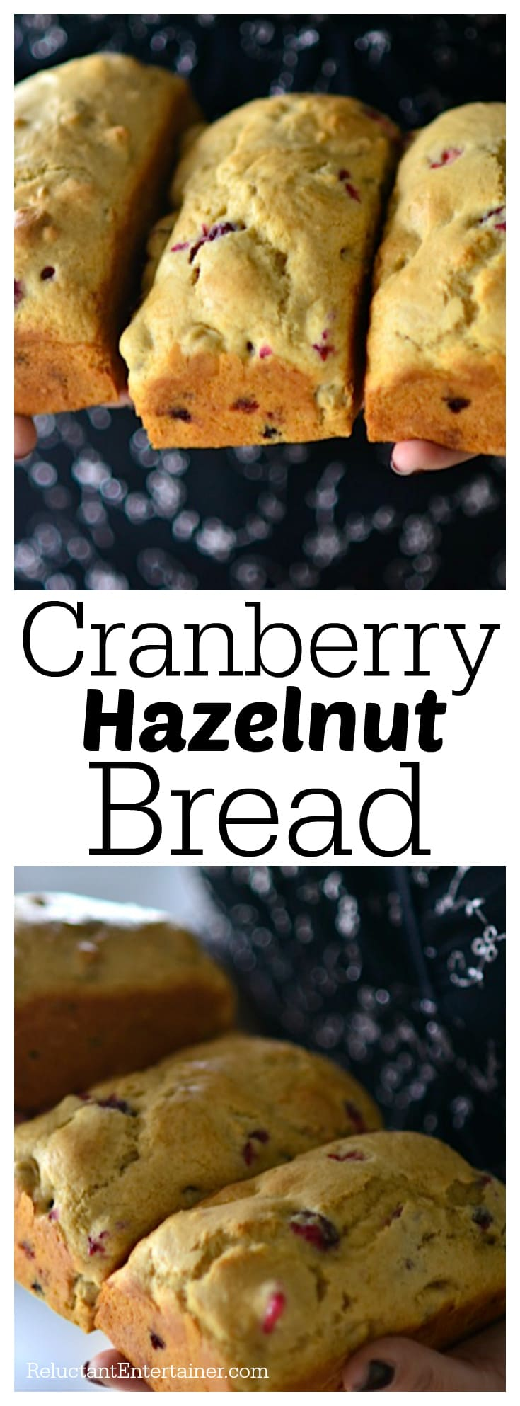 Cranberry Hazelnut Bread Recipe