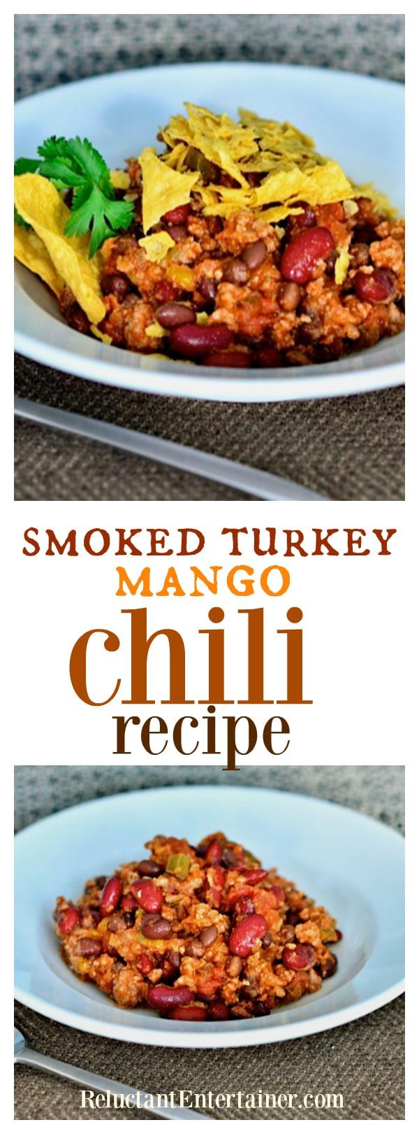 Smoked Turkey Mango Chili Recipe