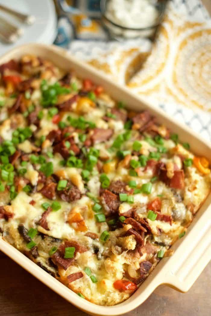 Winter Breakfast Casserole Recipe