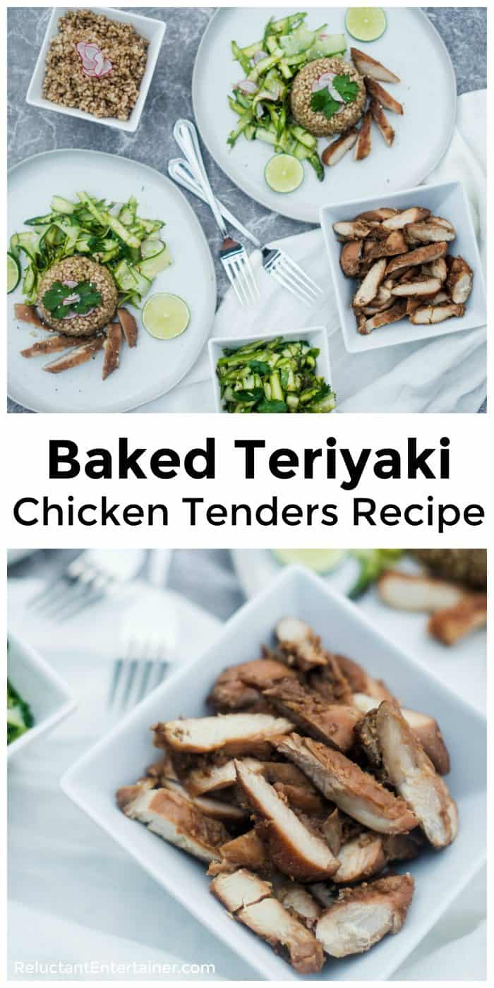 Baked Teriyaki Chicken Tenders Recipe