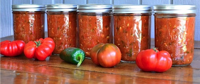 Sweet Smokey Zucchini Salsa Recipe