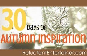 30 Days of Autumn Inspiration