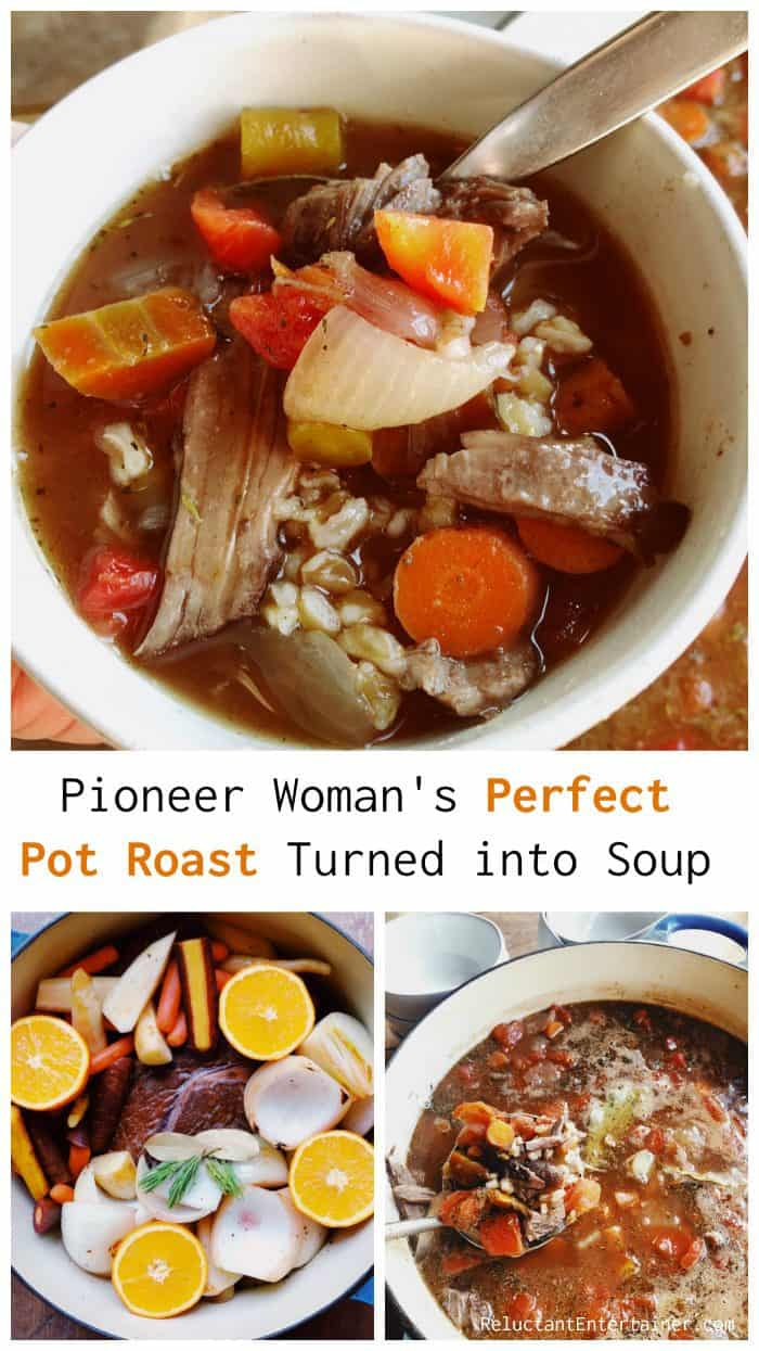 Pioneer Woman's Perfect Pot Roast Turned into Soup - Recipe