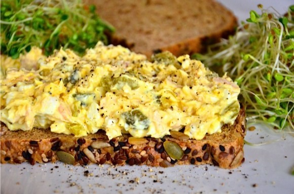 Egg Salad with Tuna and Sweet Pickles | Reluctant Entertainer