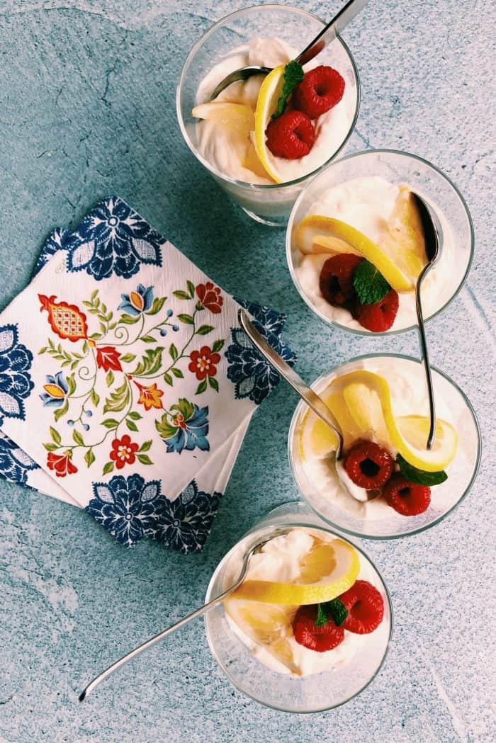 Best Light Lemon Cheesecake Mousse