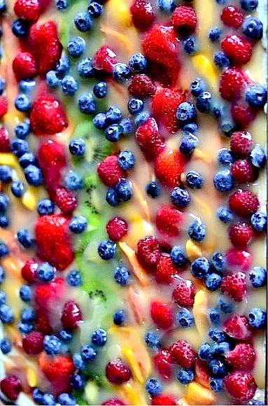 Fruit Pizza | reluctantentertainer.com