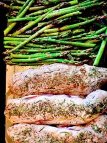 Preparing Rosemary Grilled Pork Tenderloin