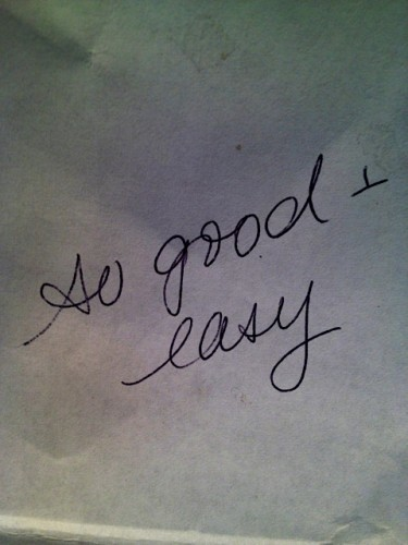 So Good & Easy