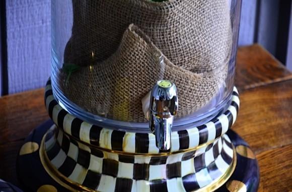 MacKenzie-Child's Beverage Jar