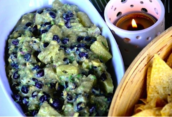Bush's Beans Pineapple Guacamole | Reluctant Entertainer