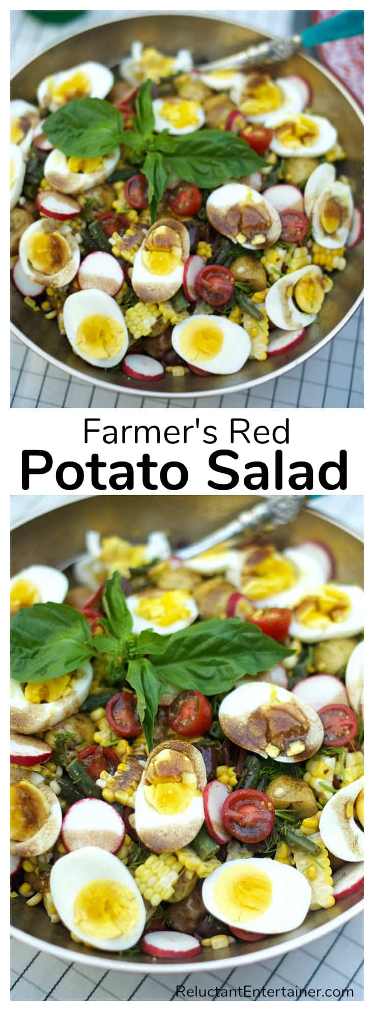 The Best Farmer's Red Potato Salad Recipe