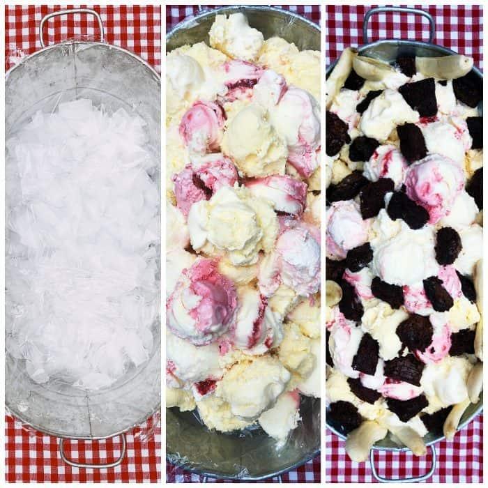 how to ... Summer Ice Cream Trough Dessert