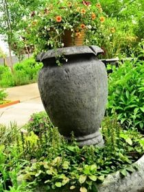 Repurposed Flower Pot
