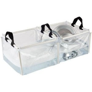 Coleman camping dishwashing
