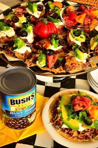Bush's Black Bean Mexican Pizza   Reluctant Entertainer