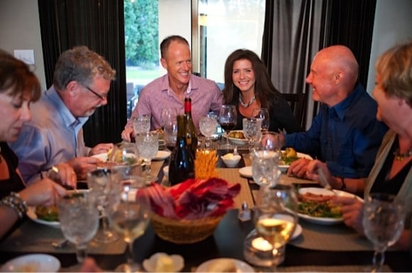 RE Dinner Party, photo by David Gibb
