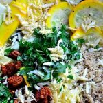 Zucchini Summer Squash Salad with Quinoa