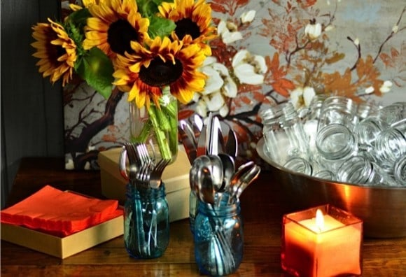 4 Steps to Casual Autumn Dinner Party | www.reluctantentertainer.com