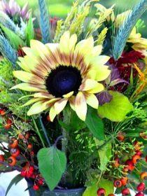 sunflower tabletop