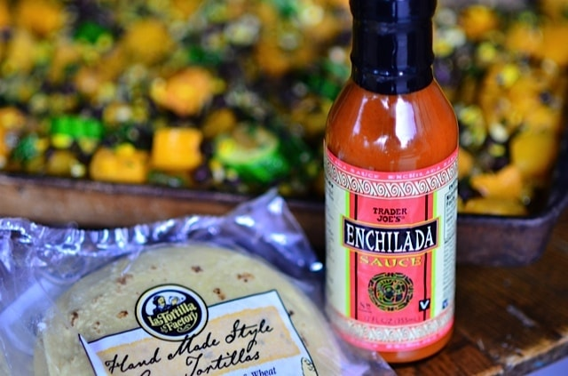 Butternut & Squash Enchiladas