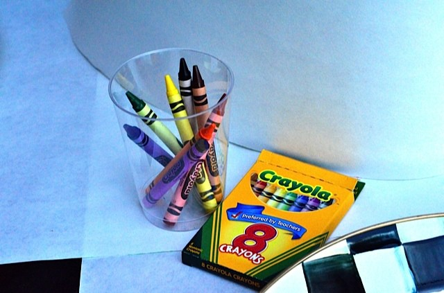 Butcher paper and crayons | kid entertaining | Reluctant Entertainer.com