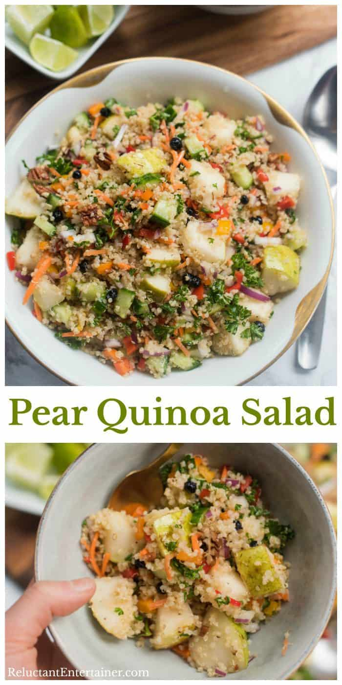 Pear Quinoa Salad Recipe