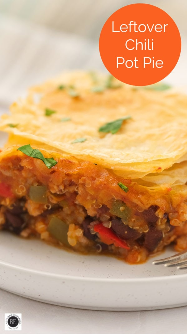 Holiday Leftover Chili Pot Pie
