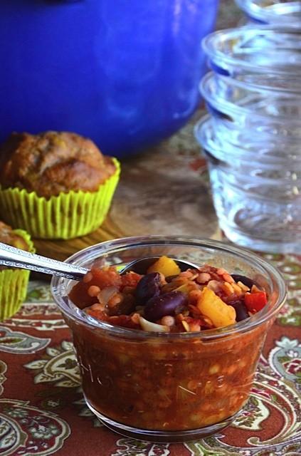 Bush's Beans Red Lentil Chili