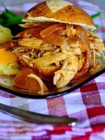Slow Cooker Carolina Pork Sliders