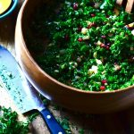 Pomegranate Kale Salad