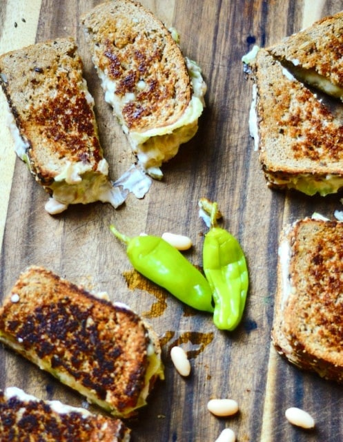 White Bean Swiss Cheese Melts | ReluctantEntertainer.com
