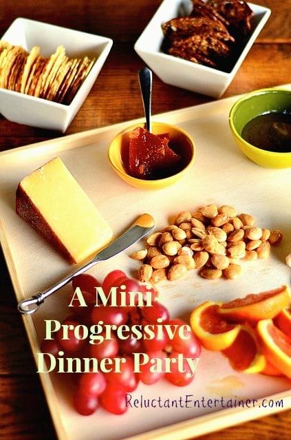 Mini-Progressive Dinner Party