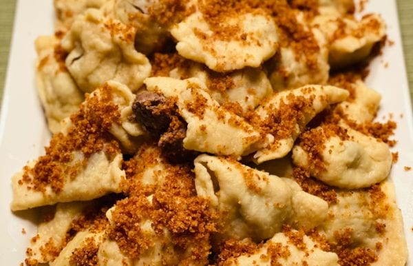 platter of Fleischkuekle Recipe