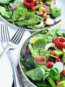 Spinach Cobb Salad