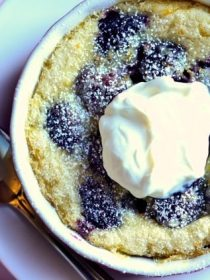 Blackberry Claflouti Recipe