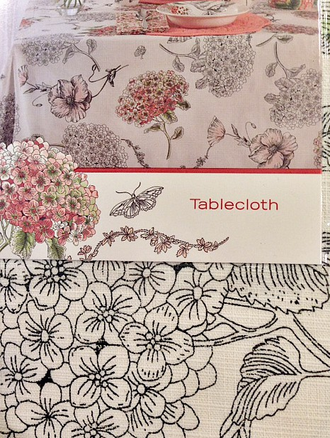 sale rack table cloth