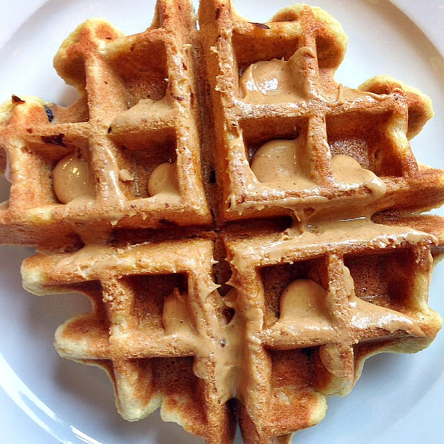 Gluten-Free Cranberry Orange Waffles