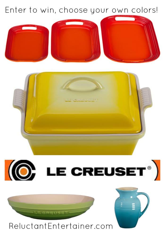 Le Creuset Serveware {Giveaway}