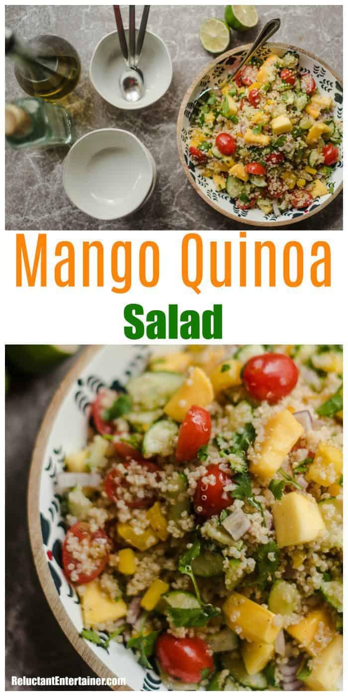 Mango Quinoa Salad Recipe
