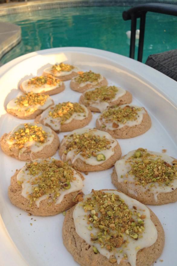 Banana Meringue Cookies