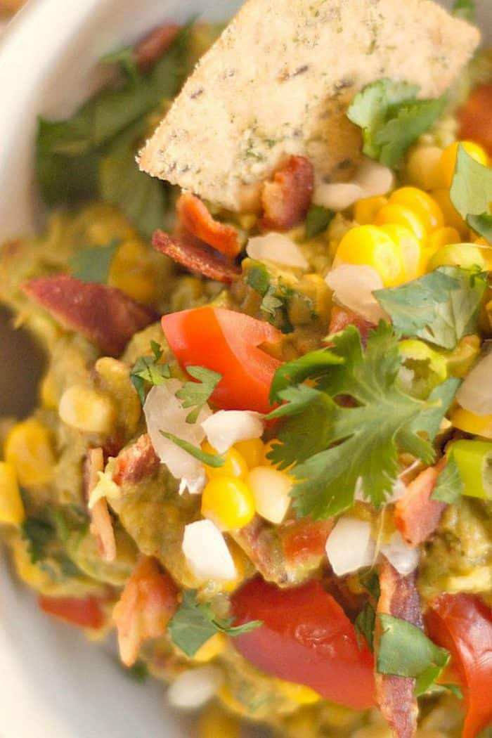 Chipotle BLT Dip with Fresh Corn Recipe