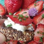 Strawberry and Blue Cheese Bruschetta