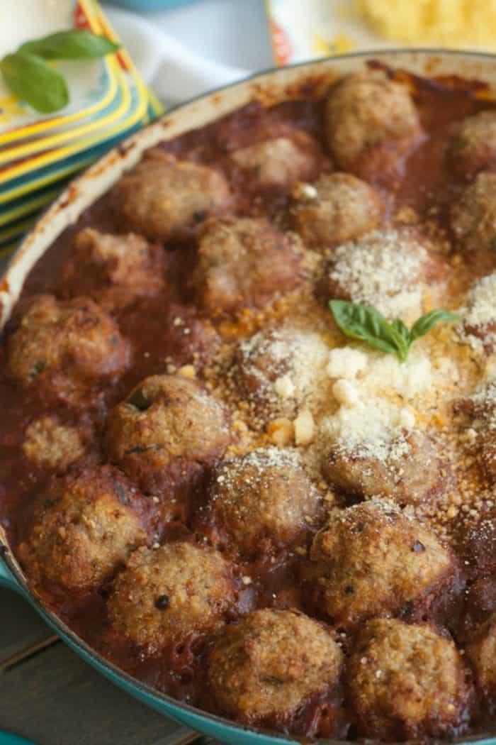 Tasty Baked Turkey Meatballs