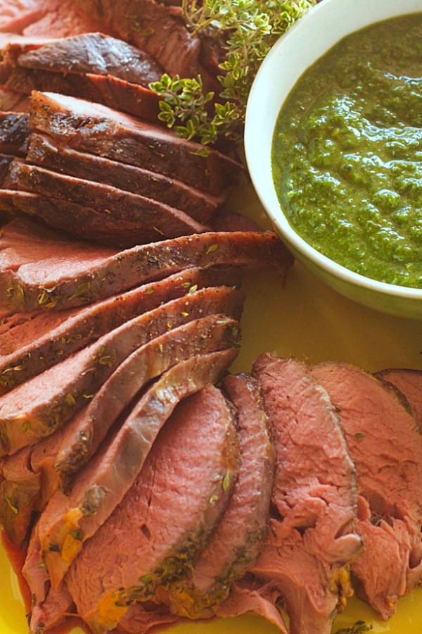 Cooking Beef Tenderloin with Fresh Herbs