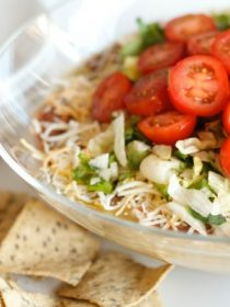 Cooking Fresh with Healthy 7 Layer Bean Dip Recipe