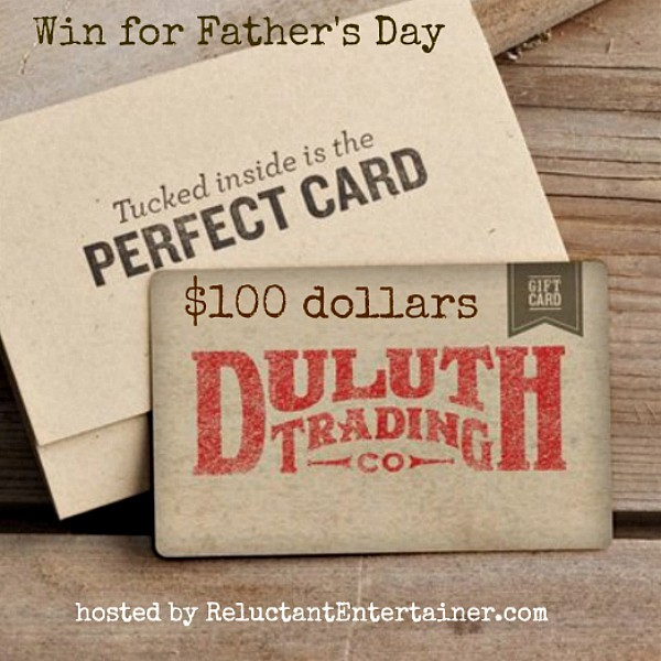Duluth Trading Co. Father's Day Giveaway