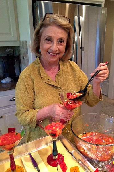 Maria's Watermelon Gazpacho
