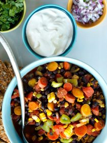 Vegetable Black Bean Chili