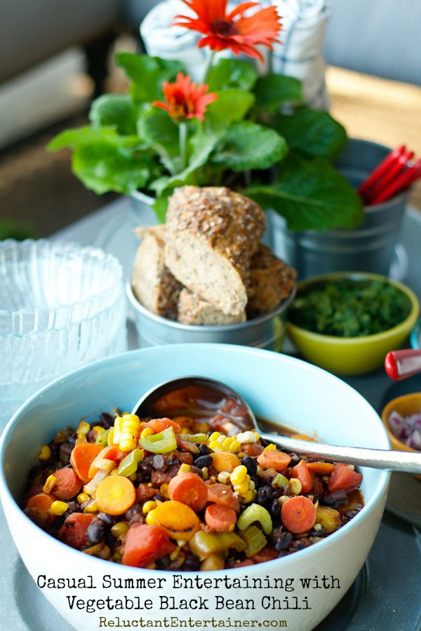 Vegetable Black Bean Chili